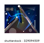 modern abstract. vector... | Shutterstock .eps vector #329094509
