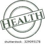 health rubber seal | Shutterstock .eps vector #329095178