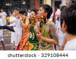 phuket  thailand   october 2015 ... | Shutterstock . vector #329108444