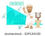 Pythagoras   Cute Cartoon Of...