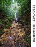 Beautiful Cascading Waterfall...