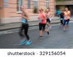 blurred  defocused  image of... | Shutterstock . vector #329156054