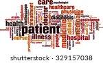 patient word cloud concept....