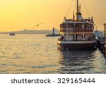 sea voyage to bosporus channel... | Shutterstock . vector #329165444