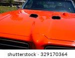1969 Pontiac Gto Car Hood And...