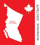 vector canadian province map  ... | Shutterstock .eps vector #329173679