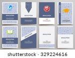 corporate identity vector... | Shutterstock .eps vector #329224616
