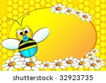 bee family   baby boy with... | Shutterstock .eps vector #32923735