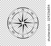 windrose compass vector icon  ... | Shutterstock .eps vector #329256854