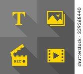 vector flat icons   media