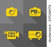 vector flat icons   visual