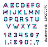 vector alphabet set fun... | Shutterstock .eps vector #329272070