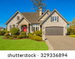 luxury house in vancouver ... | Shutterstock . vector #329336894