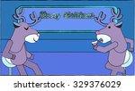 Cartoon Reindeer Animal...