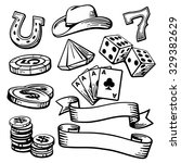 Casino Set Symbols And Stetson...