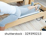 pilates fitness | Shutterstock . vector #329390213