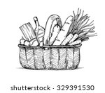 hand drawn vector illustration  ... | Shutterstock .eps vector #329391530