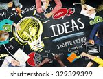 ideas innovation creativity... | Shutterstock . vector #329399399