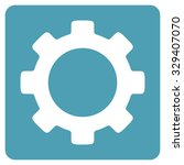 industry vector icon. style is... | Shutterstock .eps vector #329407070