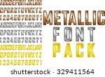 vector metallic steampunk style ... | Shutterstock .eps vector #329411564