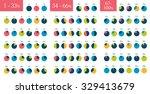 mega set of infographic... | Shutterstock .eps vector #329413679