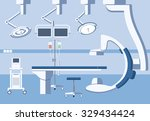 medical hospital surgery... | Shutterstock .eps vector #329434424