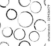 black charcoal circle seamless... | Shutterstock .eps vector #329436479