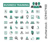 business training  education ... | Shutterstock .eps vector #329447900