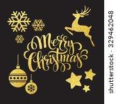 christmas gold glitter ...