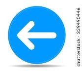icon arrow. flat design style