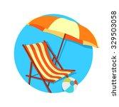 flat vector icon   illustration ... | Shutterstock .eps vector #329503058