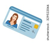 id card | Shutterstock .eps vector #329522066