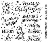 Handwritten Christmas...