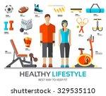 sport life stile infographic...