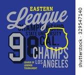 athletic sport california...   Shutterstock .eps vector #329547140