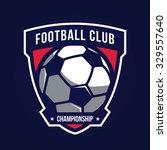 soccer logo  american logo sport | Shutterstock .eps vector #329557640