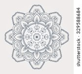 mandala. round ornament pattern.... | Shutterstock .eps vector #329588684