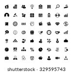 investment icons set | Shutterstock .eps vector #329595743