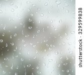 realistic transparent water... | Shutterstock .eps vector #329599838