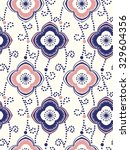 seamless paisley background.... | Shutterstock .eps vector #329604356