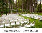 wedding venue in oregon has... | Shutterstock . vector #329615060