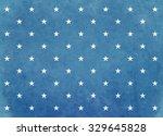 White Star On Blue Background....