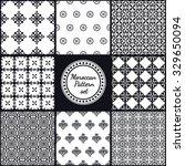 vector illustration of moroccan ... | Shutterstock .eps vector #329650094