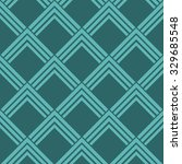seamless cyan vintage art deco... | Shutterstock .eps vector #329685548