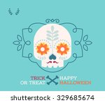 happy halloween | Shutterstock .eps vector #329685674