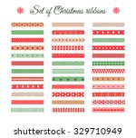 big set of christmas and new... | Shutterstock .eps vector #329710949