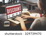 discount price promotion... | Shutterstock . vector #329739470