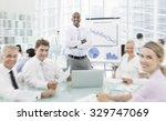 business seminar meeting... | Shutterstock . vector #329747069