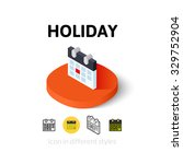 holiday icon  vector symbol in...