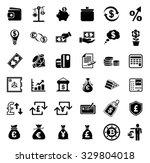money icons set   Shutterstock .eps vector #329804018